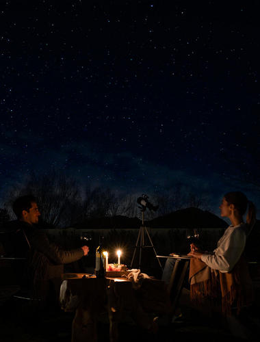 The night sky in Scottsdale